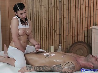 Horny pornstars Lucy Li, Mike Angelo in Exotic Cumshots, Big Tits xxx movie